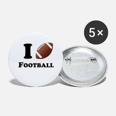 I Heart Football I Heart Football - Large Buttons