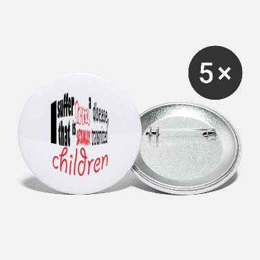 Children children - Large Buttons