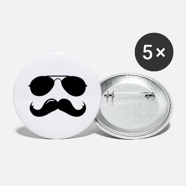 Macho Macho Mustache - Large Buttons