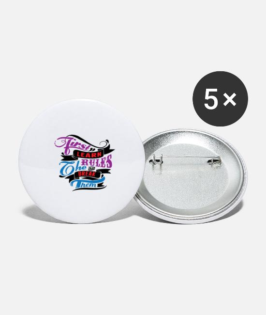 Naughty Buttons & Pins - provocative awesome horny naughty alcohol birthday - Large Buttons white