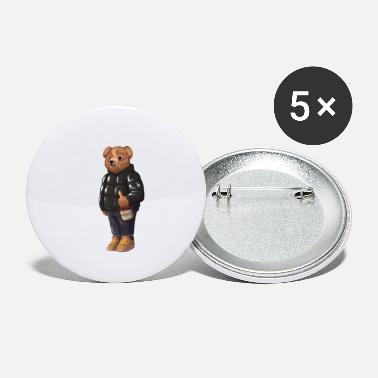 Solehouette Henny Bear Blk - Large Buttons