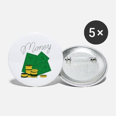 Vector Money Vector - Large Buttons