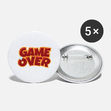 Bachelorette Party Game Over - Gift Idea - Large Buttons