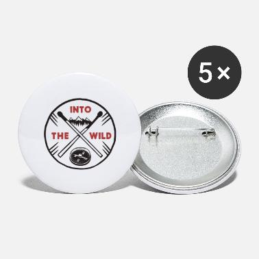 Wild Into the wild - Large Buttons