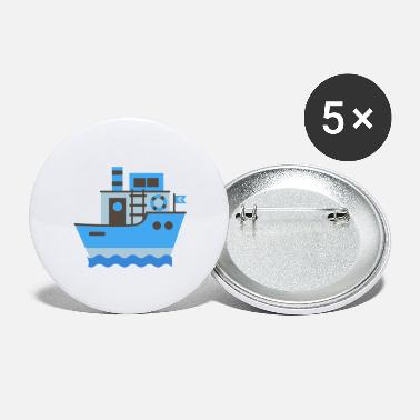 Boat Ship, Boat, Boating - Large Buttons