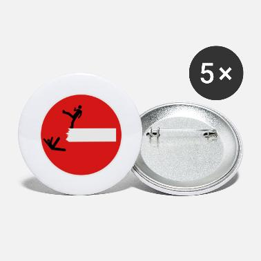 Satire Road Sign THIS IS SPARTA Satire 3c - Large Buttons