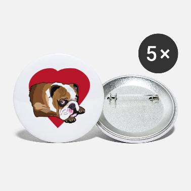 Bulldog Bulldog French Bulldog Bulldog T shirt - Large Buttons