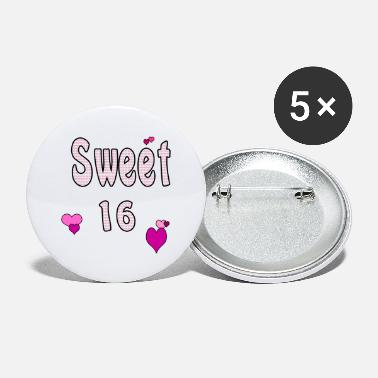 Sweet 16 Sweet 16 - Large Buttons