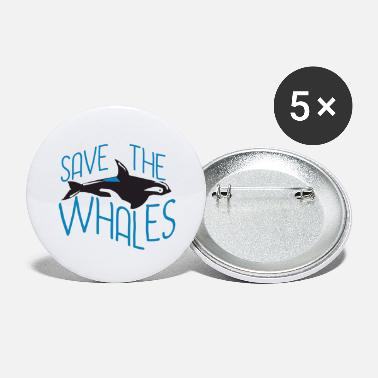Greenpeace Save The Whales Save the Whales - Large Buttons