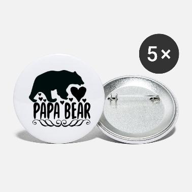 Teddy Bear Papa bear - Large Buttons