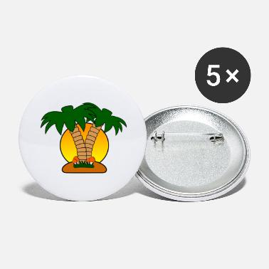 Island island - Large Buttons