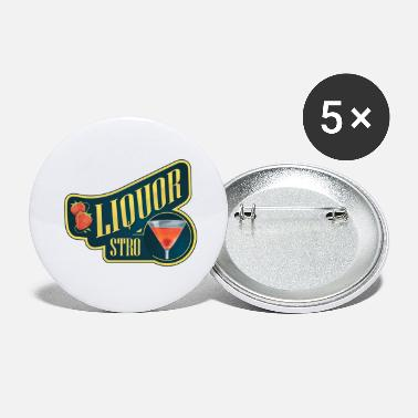 Liquor Liquor Stro - Large Buttons