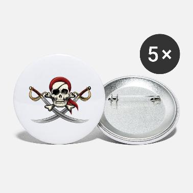 Pirate Skull Pirate Skull - Large Buttons