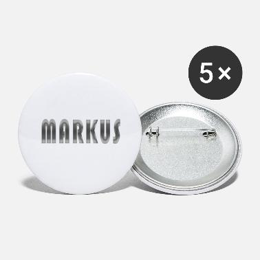 Man Name markus name - Large Buttons
