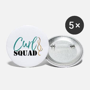 Curl Squad - Large Buttons