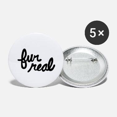 Fur fur real - Large Buttons