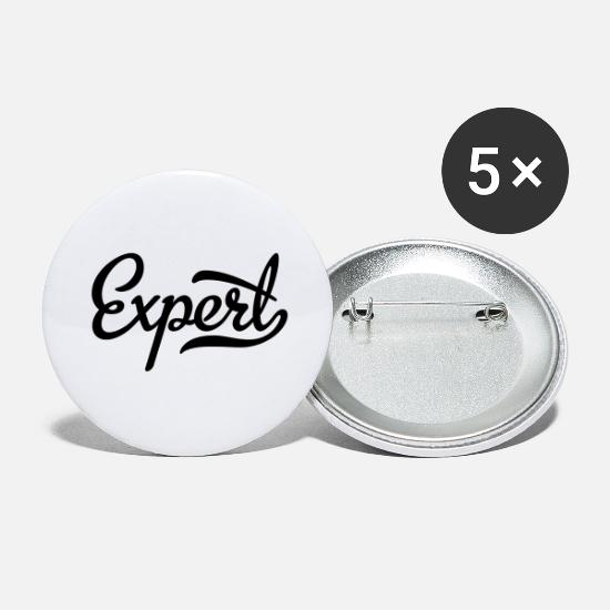 Expert Buttons - expert - Large Buttons white