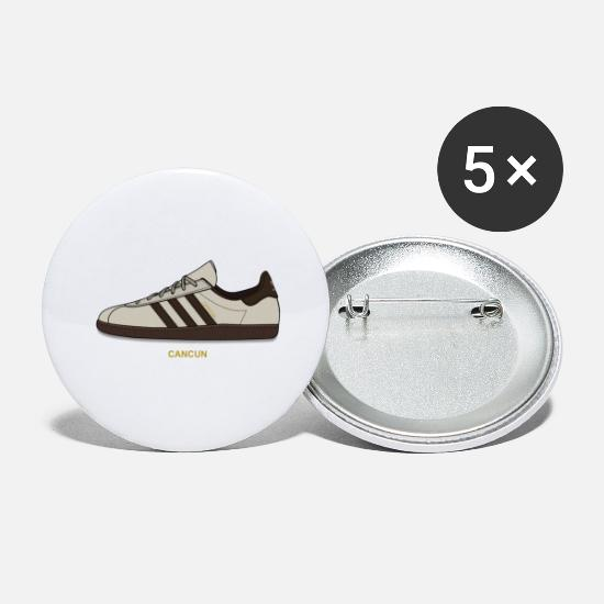 Adidasstockholm Buttons - Cancun Island Series - Large Buttons white
