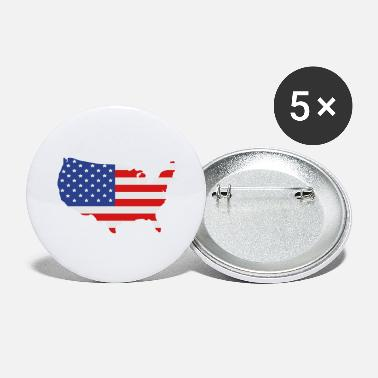 United States Of America United States of America - Large Buttons