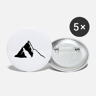 Mountain Mountains, Mountain - Large Buttons
