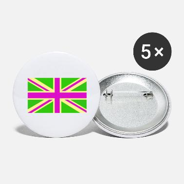 Uk UK Psychedelic - Large Buttons