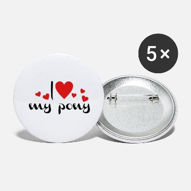 Pony pony - Large Buttons