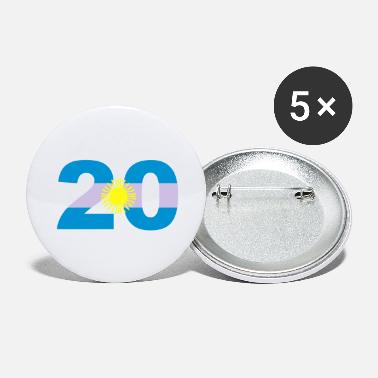 Argentinia Numbers 20 Jersey Numbers Argentinia - Large Buttons