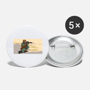 Marine marine - Large Buttons