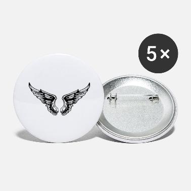 Wings wings - Large Buttons