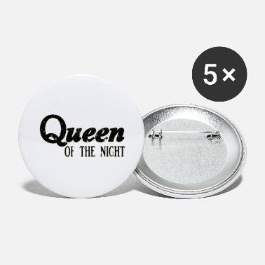 queen black - Large Buttons