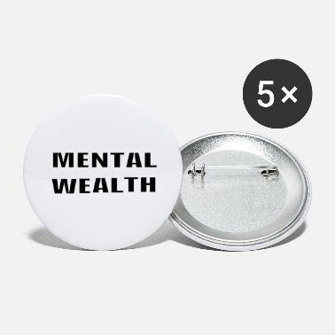 Wealth Mental Wealth - Large Buttons