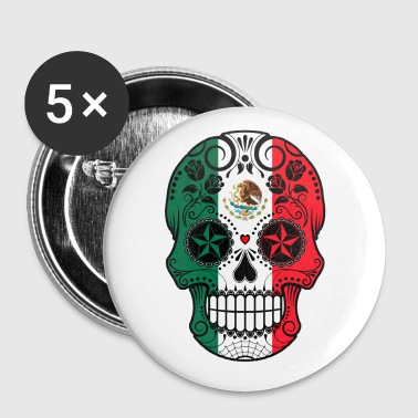 Mexican Sugar Skull - Large Buttons
