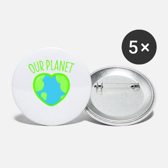 SAVE THE PLANET 8 NEW button pin badge global warming climate change recycle