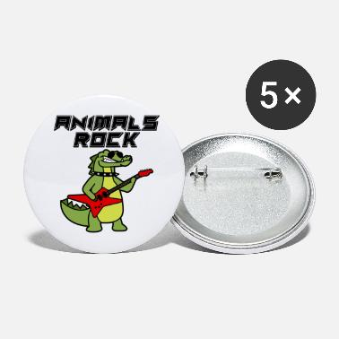 Animals Animals Rock Crocodile - Large Buttons