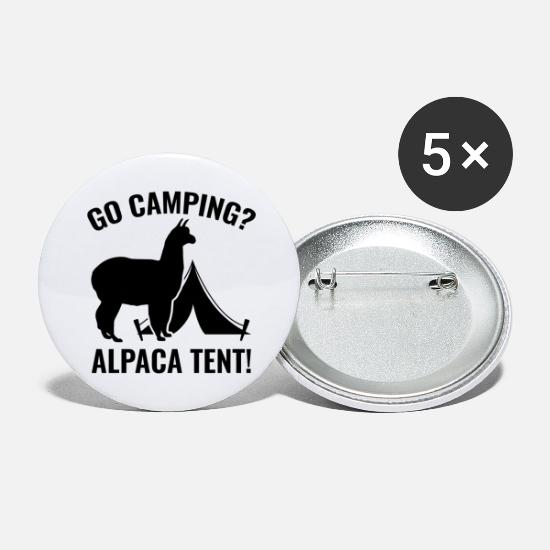 Tent Buttons - Alpaca Tent - Large Buttons white