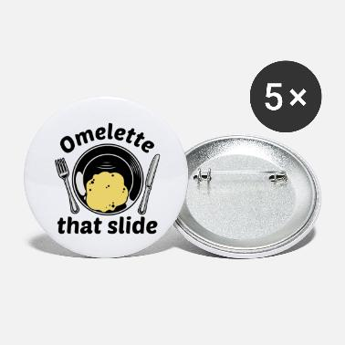Slide Omelette That Slide - Large Buttons