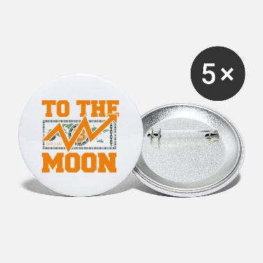 Gang Dogecoin To The Moon Digital hodl FUN gift idea - Large Buttons