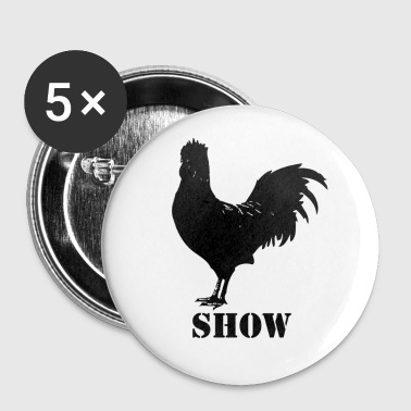 Cock show buttons - Large Buttons