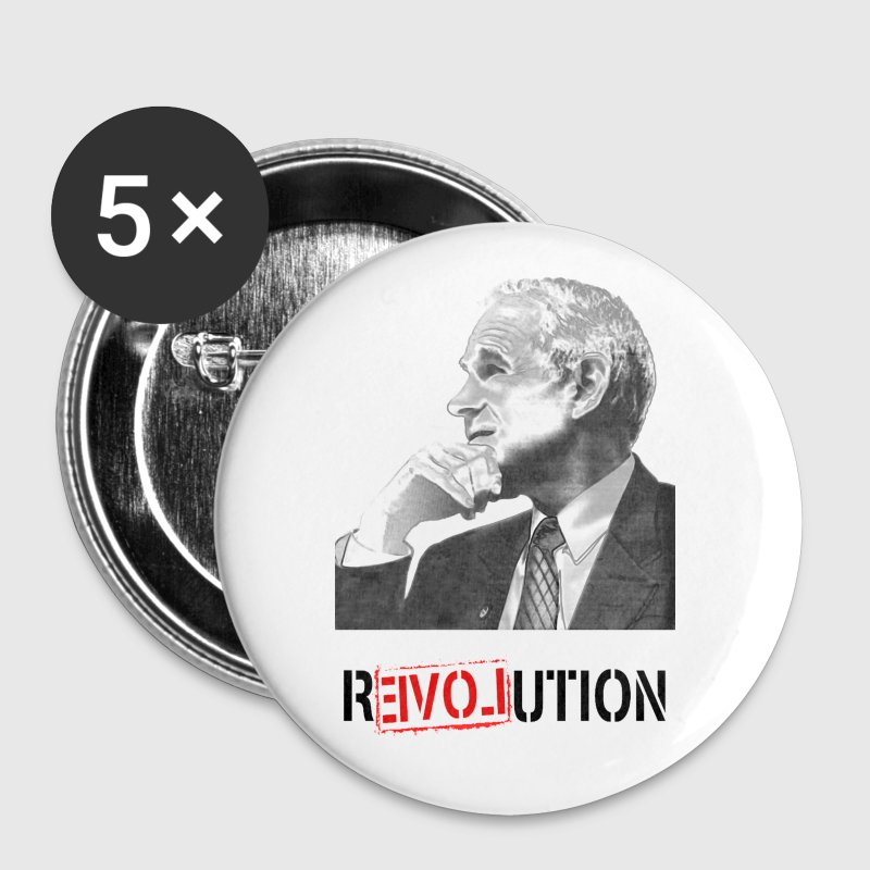 Ron Paul R3volution - Large Buttons