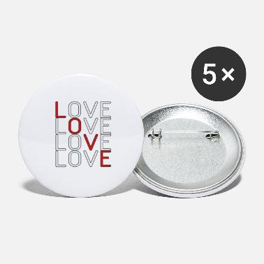 Lovely Love Love Love Love - Large Buttons