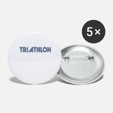 Triathlon Sports Triathlons Athlete Triathlon Triathloner - Large Buttons