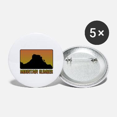 Mountain Climber Mountain climber - Large Buttons