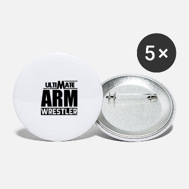 Armwrestling Arm Wrestling Armwrestling - Large Buttons