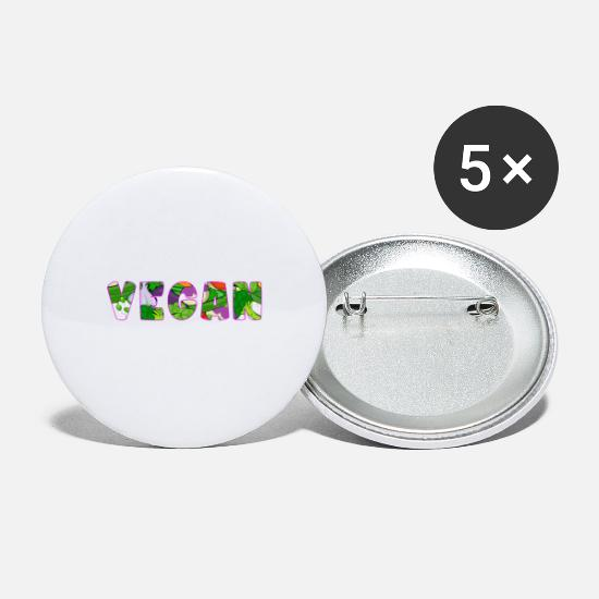 Meaty Buttons - Vegan - Large Buttons white