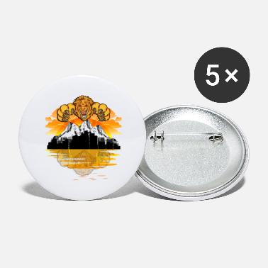 Alpine Alpine lion - Large Buttons