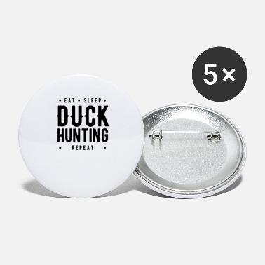 Duck Shoot Hunt Ducks Duck Hunting Duck Hunter Team - Large Buttons