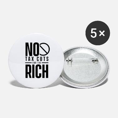 Wealth Tax The Rich - Large Buttons