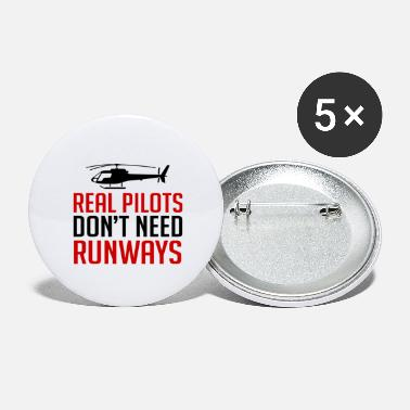 Jet Real Pilots Don't Need Runways - Pilot - Large Buttons
