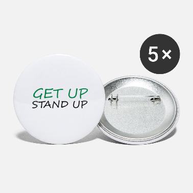Dub Get up Stand up - Reggae - Large Buttons