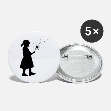 Flower Girl Flower girl - Large Buttons